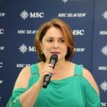 Marcia Leite, diretora de Operações da MSC no Brasil