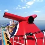 Mardi Gras, da Carnival terá a primeira montanha-russa em um navio cruzeiro, a Bolt.