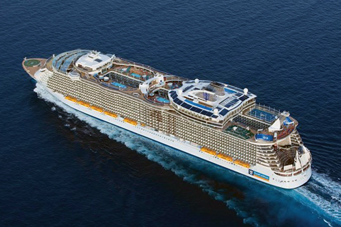 Oasis, maior classe de navios da Royal Caribbean