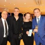 Orlando Palhares, João Paulo, Simone Silva e Ricardo Kaiser, da CVC