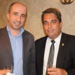 Rafael Alves, do Hilton, com Alexandre Jorge, do Exército Brasileiro