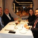 Raphael Magalhães, Ronaldo Faria, Renata e Ricardo Caceres, da Flytour