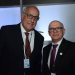 Roberto Maciel, presidente da Abrasel RJ, e Wilson Pereira, da Contratuh