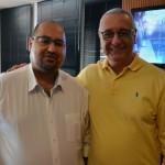Robson Camargo e Luiz Ambar, da Ancoradouro