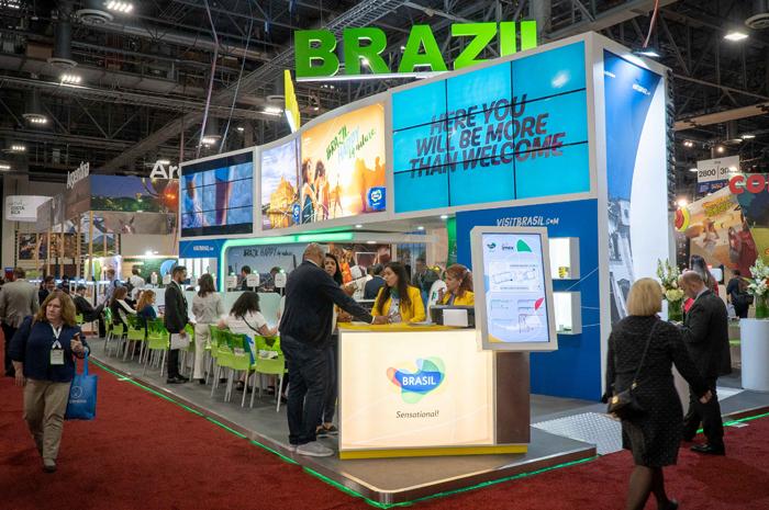 Empresas e entidades públicas e privadas interessadas em promover produtos e destinos brasileiros no estande da Embratur poderão se inscrever a partir desta sexta-feira