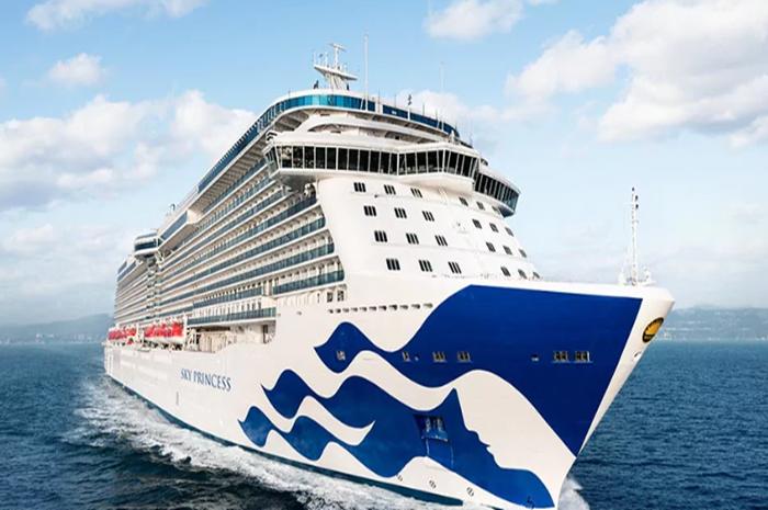 O Sky Princess será adicionado ao Portfólio da Princess Cruises a partir de outubro de 2019