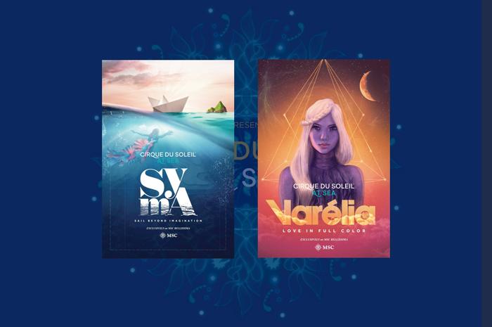 SYMA e VARÉLIA são os novos espetáculos do Cirque du Soleil at Sea (Divulgação)