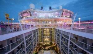Royal Caribbean define roteiros dos maiores navios da frota até 2022