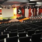 Teatro Odeon com capacidade para quase mil hóspedes