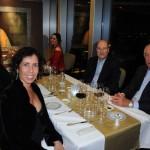 Teresa Kalil, da Alatur JTB, com seu esposo Arnaldo Baldini, Alessandra Pacito, da Escape Travel, e Eduardo Koglin, da Koglin Viagens
