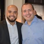 Thiago Souza, da Avianca, com Daniel Santoro, da Iberia