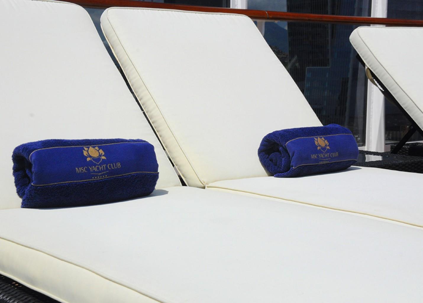 M&E relembra a viagem de luxo a bordo do Yacht Club do MSC Fantasia