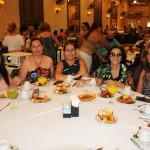 Vera Tatagiba, agente independente, Patrícia Parise e Rita Parise, da Parise Tour, e Elizete Vasconcellos e Rosa Maria Barata, da RMB Viagens