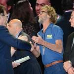 Vinicius Lummertzs, ministro do Turismo, e Rafael Torres, do M&E