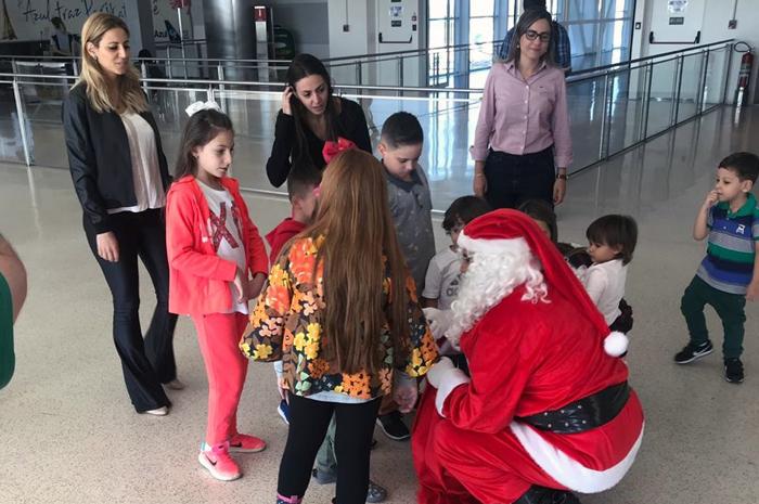 Papai Noel distribuirá doces para crianças durante operação no Aeroporto de Viracopos (Divulgação)