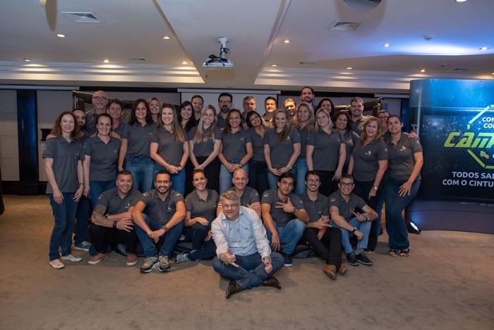 Colaboradores da companhia se reuniram para avaliar os resultados de 2018 e traçar metas para 2019