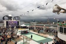 Bahia faz ação promocional para turistas de cruzeiros em Santos