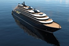 Azora é o nome do primeiro navio de luxo da Ritz-Carlton Yacht Collection