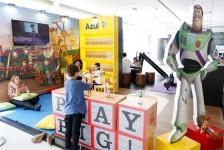 Azul e Disney World inauguram espaço infantil em Campinas
