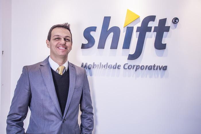 Alexandre Pinto, sócio-fundador da Shift Mobilidade Corporativa.