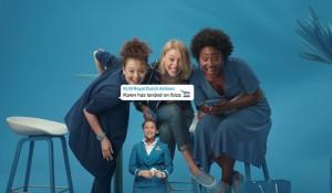 KLM lança serviço de aviso sobre viagens aos familiares via WhatsApp