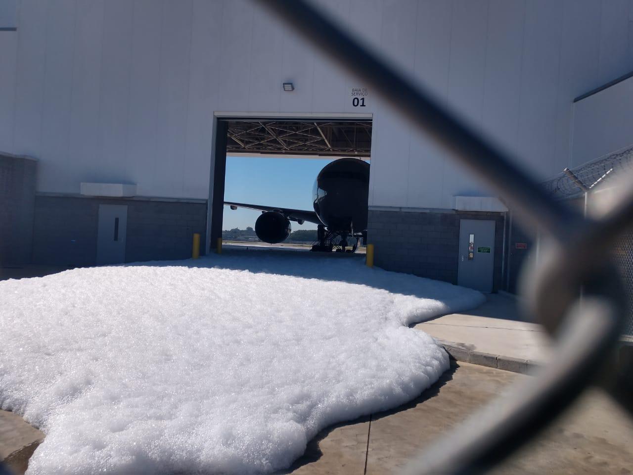 Calor Aciona Sensores Contra Inc 234 Ndio No Hangar Da