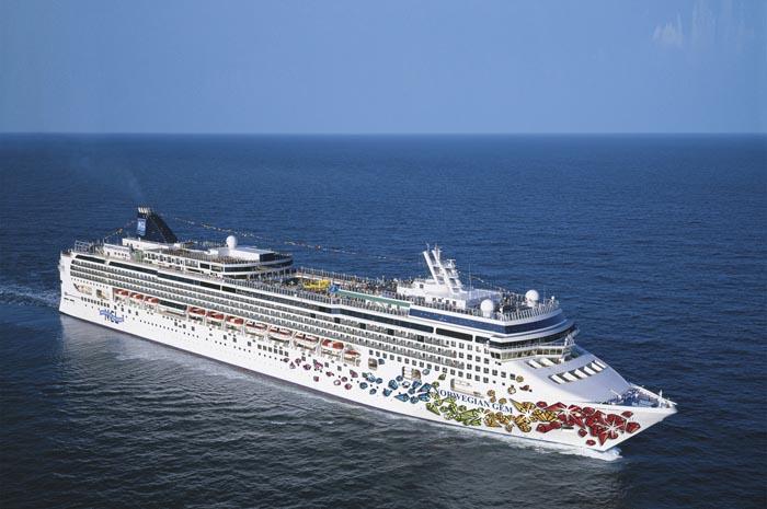 O navio aportará em dez novos portos nesta temporada