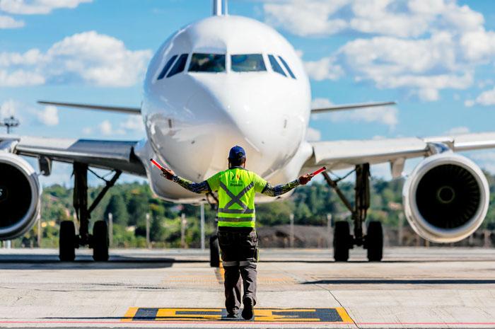 Consultoria inglesa destaca a pontualidade do Aeroporto de Brasília na categoria entre 10 e 20 milhões de passageiros por ano.