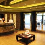 Aurea Spa tem uma porta de acesso exclusiva dos clientes Yacht Club
