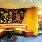Diversos espaços exclusivos para hóspedes do MSC Yacht Club