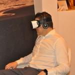 Experiência em realidade virtual é o destaque no estande do Brasil