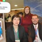 Fernanda Freitas, Ksenia Marfina e Luis Dotti, da Personal Incoming