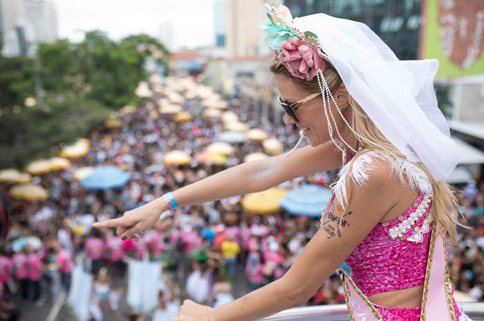 Blocos de rua são as maiores atrações do Carnaval de São Paulo (Foto: Mário Águas/Blocos de Rua)