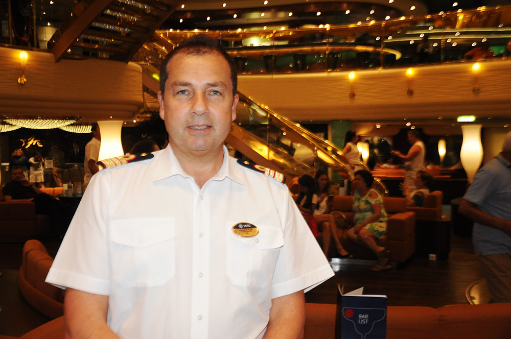 Giuseppe Pane, Hotel Director do MSC Fantasia