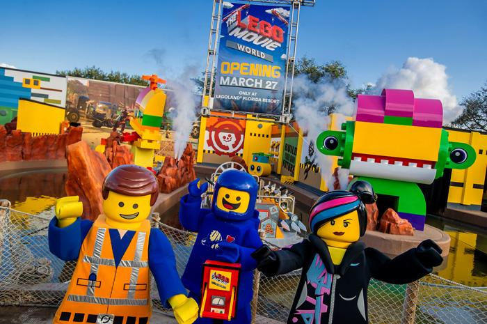 The Lego Movie World inaugura dia 27 de março