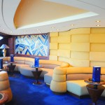 Lounge exclusivo do Yacht Club