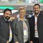 Marcelo Paolillo, Barbara Picolo, e Fabio Oliveira, da Flytour MMT Viagens