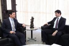 Ministro do Turismo se reúne com Moro para discutir modelos para a Segurança Pública