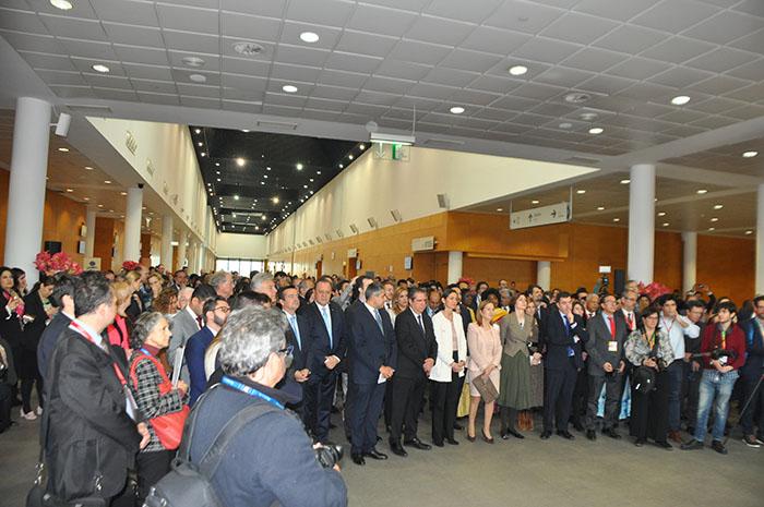 Abertura contou a presença de autoridades globais do Turismo.