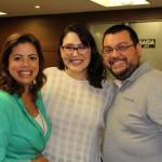 Rebeca Ferreira, Amanda de Rousset e Fernando Gimenez