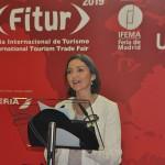 Reyes Maroto, ministra do Turismo da Espanha
