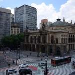 Vista do Teatro Municipal