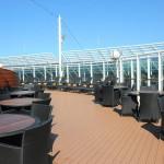 Yacht Club conta com três andares exclusivos para seus hóspedes