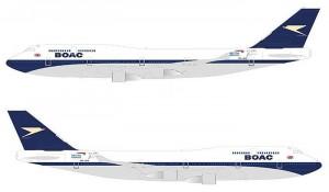British Airways pinta aeronaves em comemoração ao seu centenário