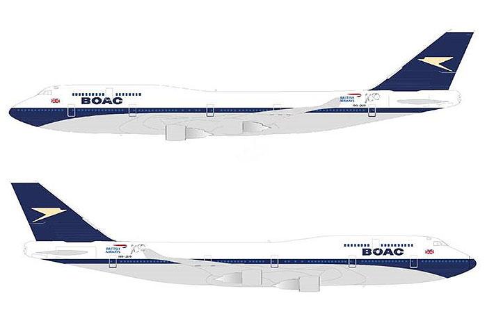 Boeing 747 será o primeiro a ganhar decoração retrô para homenagear a história da companhia