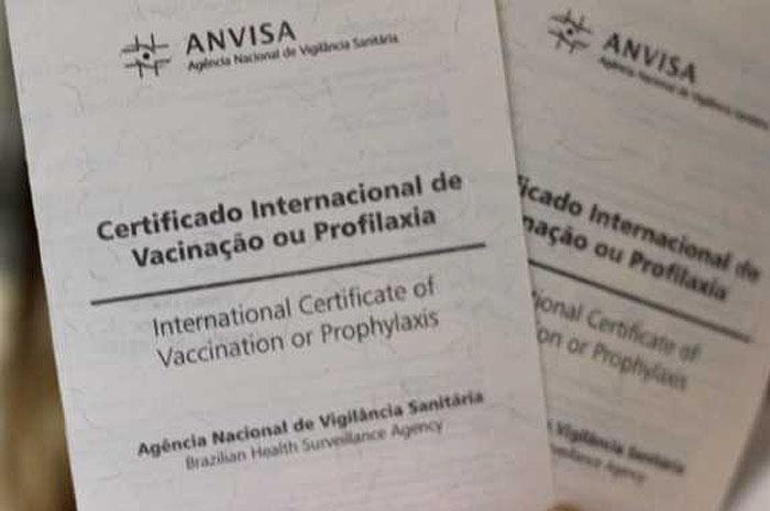 certificado vacinação