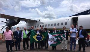 Azul opera primeiro voo comercial para Toledo (PR)