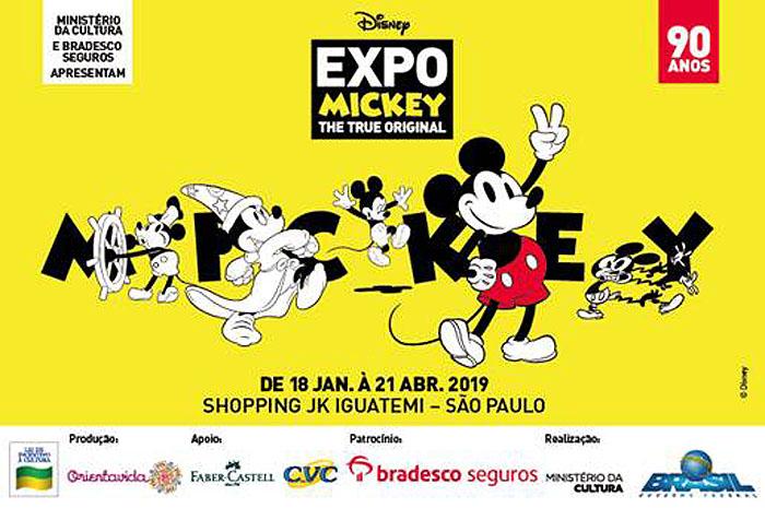 CVC e Disney abrem loja-conceito na Expo Mickey