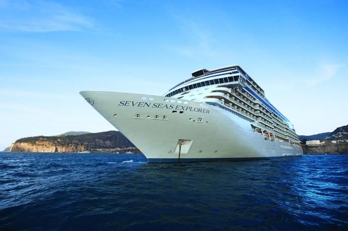Navio mais luxuoso da Regent Seven Seas Cruises navegará por todo o litoral sul do país