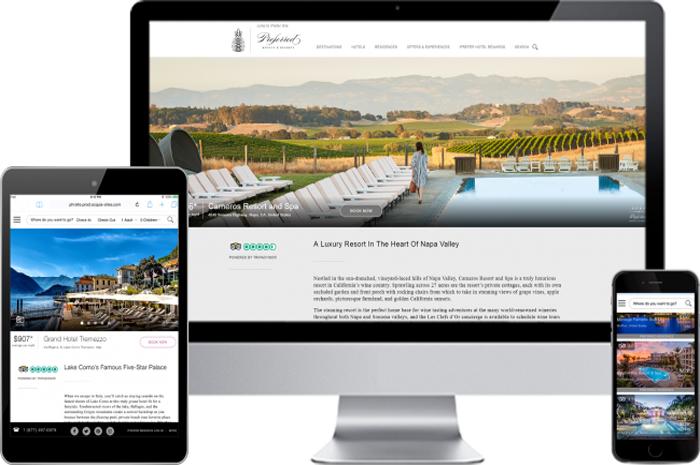 Novo site da Preferred Hotels & Resorts foi lançado